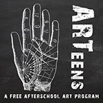grant-funded afterschool program for rural teens at The Art Garden in Shelburne Falls, MA; co-created and co-facilitated with Jane Beatrice Wegscheider